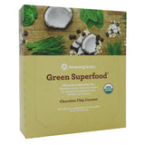 Chocolate Chip Coconut Green SuperFood Bars