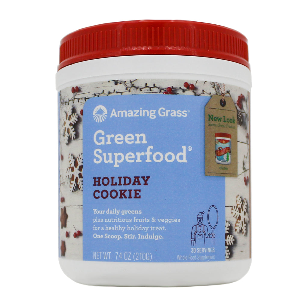 Holiday Cookie Green Superfood