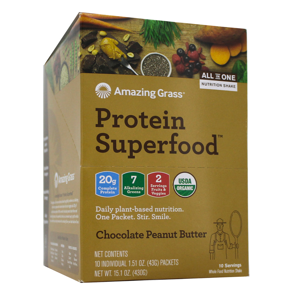 Protein SuperFood Peanut Butter Chocolate