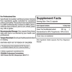 Green Tea Extract/Decaf 500mg