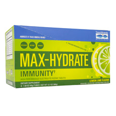 Max Hydration - Immunity Effervescent Lemon Lime