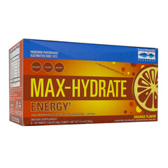 Max Hydration - Energy Effervescent Orange