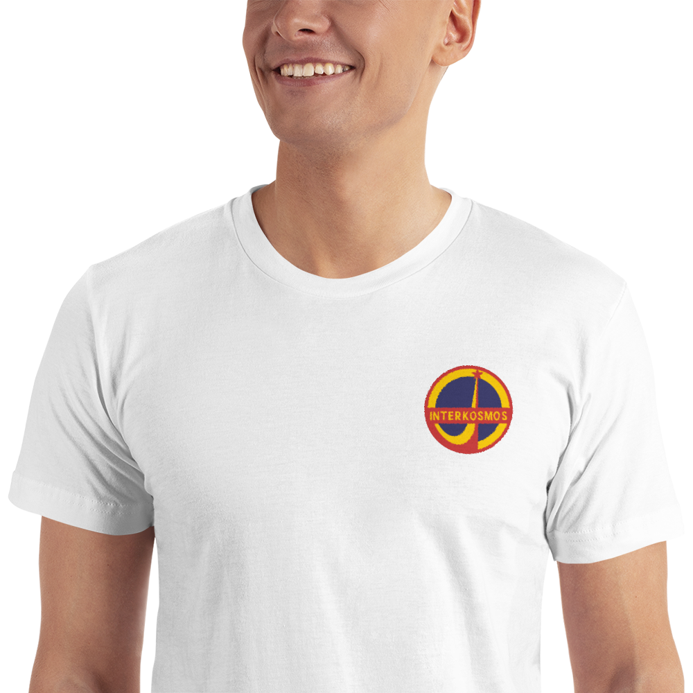 INTERKOSMOS Space Patch Embroidered T-Shirt