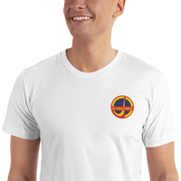INTERKOSMOS Space Patch Embroidered T-Shirt - Soviet Visuals