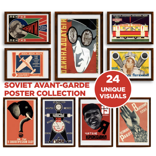 PRE-ORDER! Soviet Avant-Garde Poster Collection