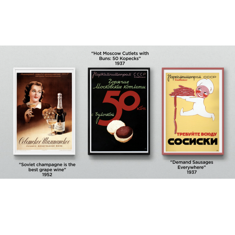 PRE-ORDER! Soviet Ads: Golden Collection