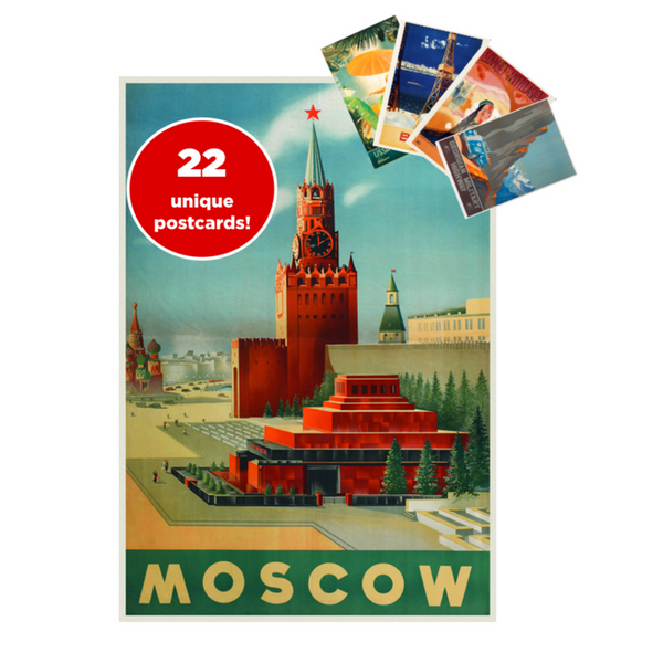 'Welcome to USSR!' 22-Piece Postcard Set