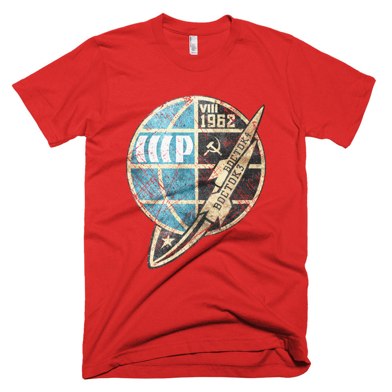 Vostok 1962 American Apparel T-Shirt - Soviet Visuals