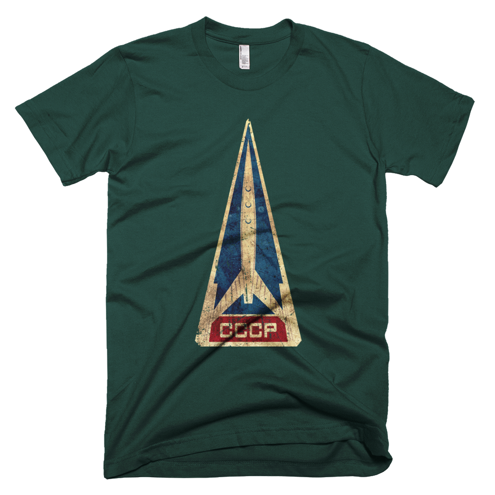 CCCP Rocket American Apparel Shirt