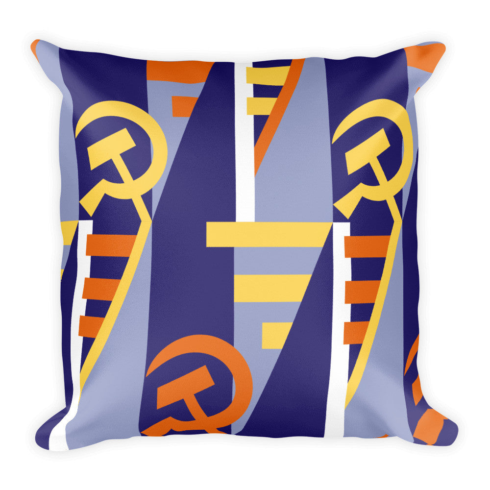 Proletariat Plush Pillow (Wide Print)