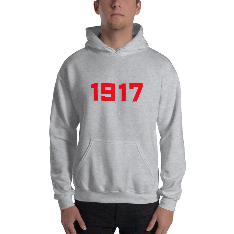 1917 Hooded Sweatshirt - Soviet Visuals