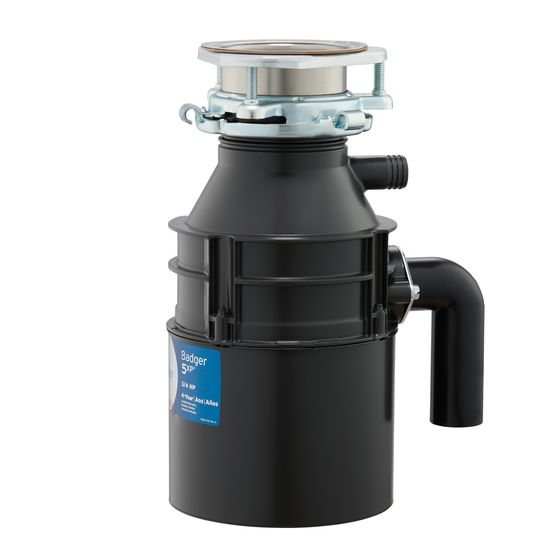InSinkErator Badger 5XP Garbage Disposal 3/4HP - NYDIRECT