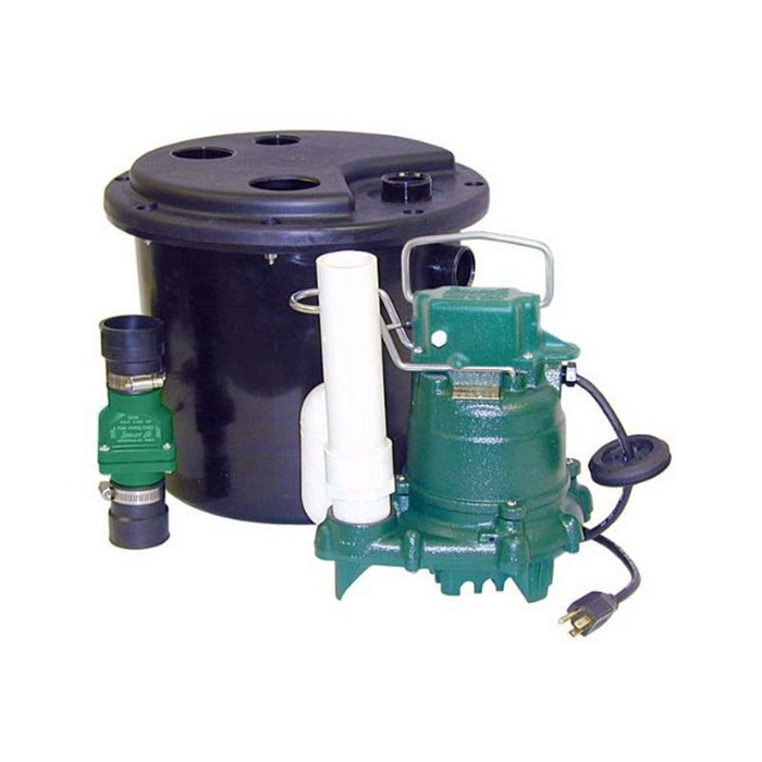 Zoeller 105-0001 Laundry Pump Package Including M53 Sump Pump - NYDIRECT