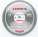 "Lenox 21889AL120080CT 12"" Metal Cutting Circular Saw Blade - NYDIRECT"