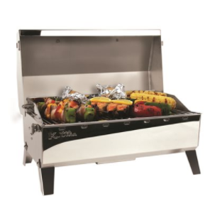 Camco 58131 Stow N Go 160 Gas Grill w/Therm & Igniter - NYDIRECT