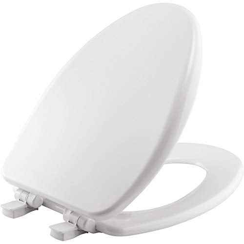 BEMIS 19170PLE4-000 Alesio II Eglongated Toilet Seat - NYDIRECT