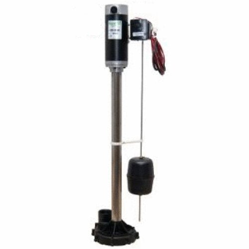 Zoeller 585-0005 Aquanot® II Battery Backup Pedestal Sump Pump System with Electronic Charger - NYDIRECT