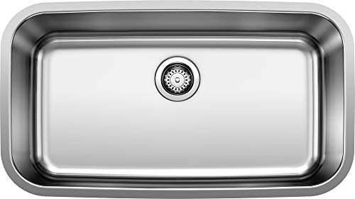 Blanco 441024 Stellar Super Single Bowl Undermount Kitchen Sink - NYDIRECT