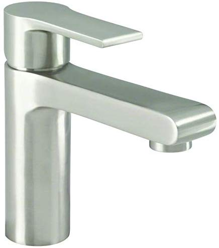 Danze D220887BN South Shore Single Handle Bathroom Faucet with Metal Touch-Down Drain, Brushed Nickel - NYDIRECT