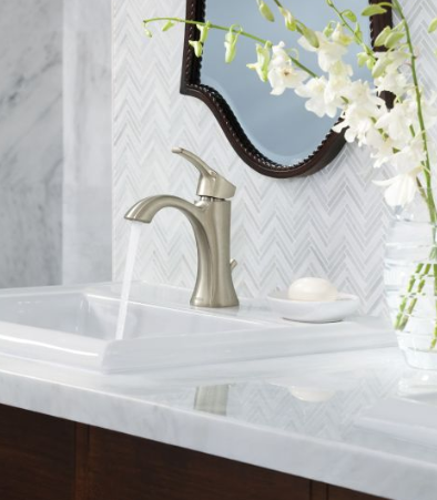 Moen 6903 Voss Single Handle Bathroom Faucet - NYDIRECT