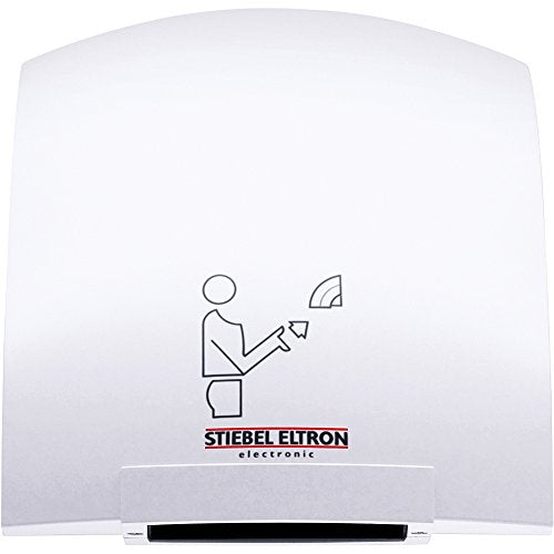 "Stiebel Eltron 073009 1850W, 120V, 6-7/8"" W x 9-13/16"" H x 9-1/16"" D Galaxy 1 Touchless Automatic Hand Dryer - NYDIRECT"
