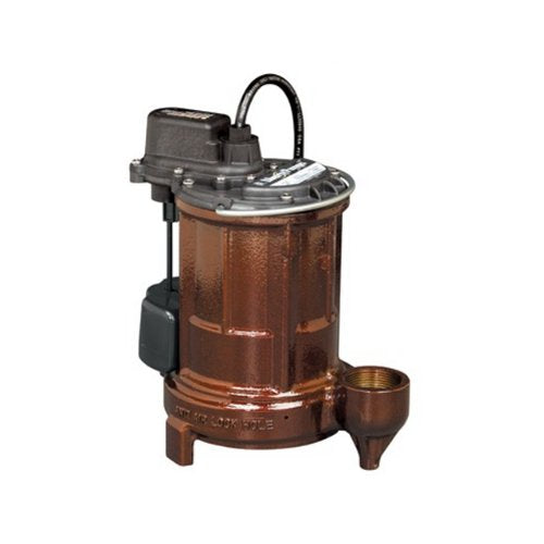 Liberty Pumps 257 1/3HP Cast Iron Automatic Submersible Sump/Effluent Pump with VMF Switch - NYDIRECT