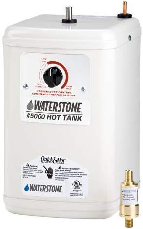 Waterstone 5000 White Waterstone Hot Water Tank - NYDIRECT