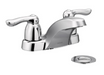 "Moen 4925 4"" Centerset Bathroom Faucet - NYDIRECT"