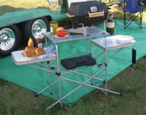 Camco 57293 Deluxe Grilling Table - NYDIRECT