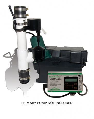 Zoeller 507-0005 Basement Sentry Battery Backup Sump Pump - NYDIRECT