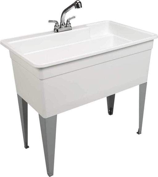 "Mustee 28CF Big Tub Utilatub Combo Utility Sink 24"" X 40"" - NYDIRECT"