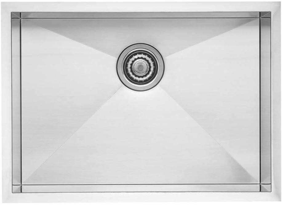 Blanco 518171 QUATRUS R0 Medium Stainless Steel Single Bowl Kitchen Sink - NYDIRECT