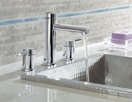 Moen T6193-9000 Align Widespread Bathroom Faucet with Valve - NYDIRECT