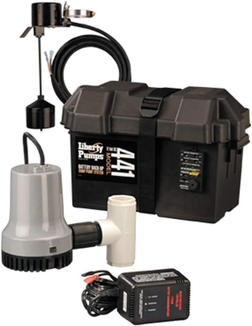 Liberty Pumps 441 Battery Back-Up Emergency Sump Pump System - NYDIRECT