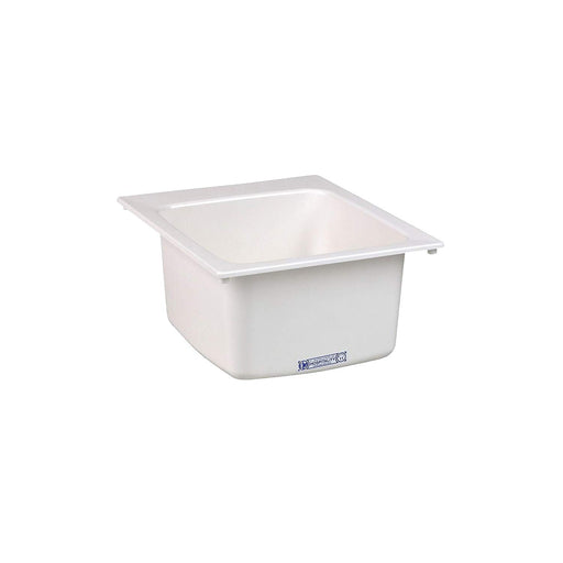 Mustee 11 Utility Sink, 17-Inch x 20-Inch, White - NYDIRECT