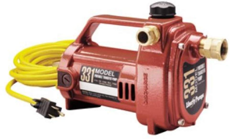 Liberty Pumps 331 Portable Transfer Pump - NYDIRECT