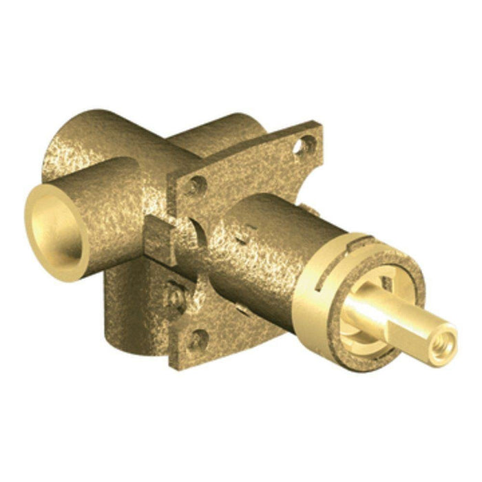 Moen 3372 M-PACT Brass Three-Function Shower Rough-In Transfer Valve, 1/2-Inch CC Connection - NYDIRECT