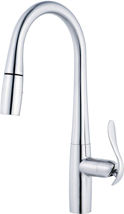 Danze Selene Single Handle Pull-Down Kitchen Faucet with SnapBack Retraction - NYDIRECT