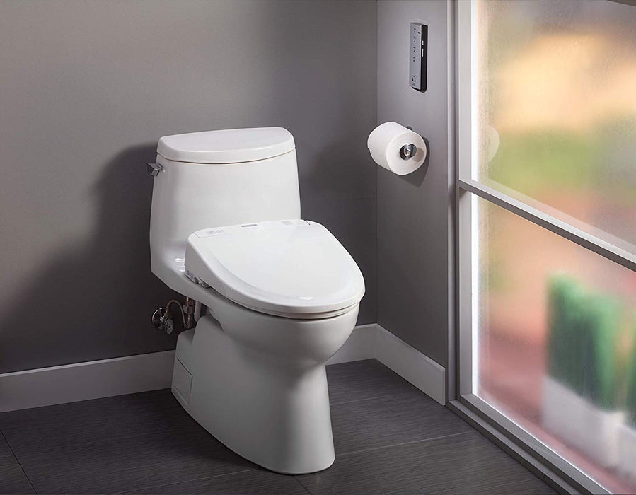 TOTO S350e SW584T20 WASHLET®+ Elongated Bidet Seat With Remote Control - NYDIRECT
