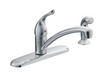 Moen 7430 Chateau Kitchen Faucet with Side Spray - NYDIRECT