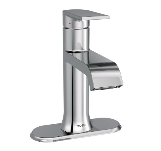 Moen 6702 Genta Single Handle Bathroom Faucet - NYDIRECT