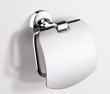 Sonia 124589 Toilet Roll Holder with Cover - NYDIRECT