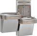 Elkay LZSTL8WSVRSK EZH2O Bottle Filling Station & Versatile Bi-Level ADA Cooler, Filtered 8 GPH Stainless - NYDIRECT