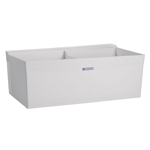 "MUSTEE 27W 40"" UTILATWIN® Laundry Tub  WALL-MOUNT - NYDIRECT"