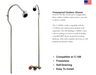 Prier C-108SH1 Freezeproof Outdoor Shower - NYDIRECT