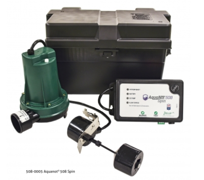 Zoeller 508-0005 Aquanot® Spin 508 Battery Back-Up System - NYDIRECT