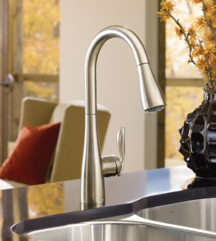 Moen 7594 Arbor Pulldown Kitchen Faucet - NYDIRECT