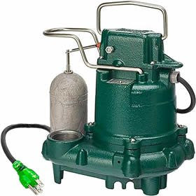Zoeller 63-0001 M63 PREMIUM SERIES Mighty-mate Submersible Sump Pump 1/3 HP - NYDIRECT