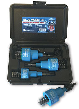 Mill-rose Blue Monster Power-Deuce Brushing Tool - NYDIRECT