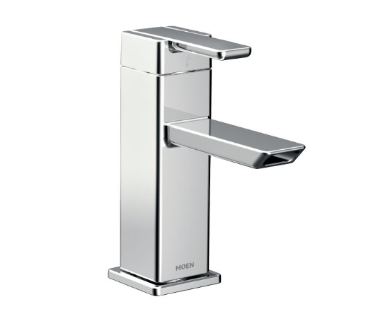 Moen S6700 90 Degree Single Handle Bathroom Faucet - NYDIRECT